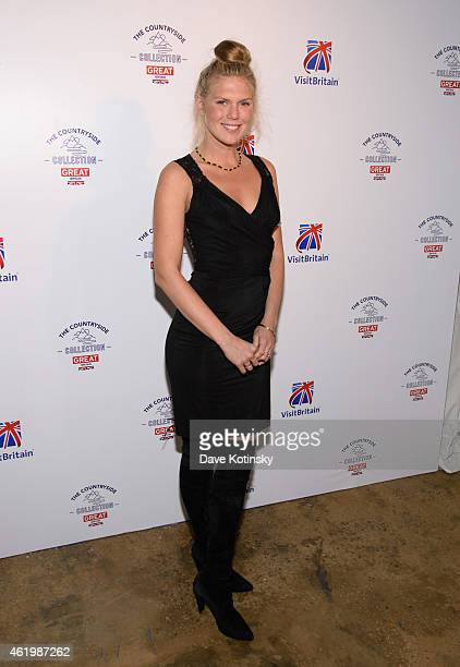 Alexandra Richards attends the VisitBritain Countryside Collection Launch at 121 Varick Street on January 22 2015 in New York City