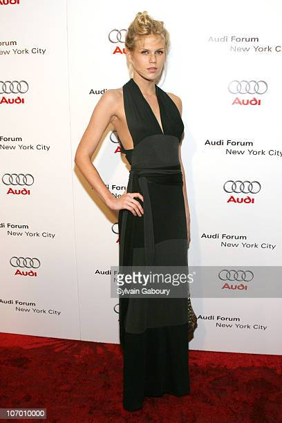 Alexandra Richards during Audi Celebrated the North American Debut of the R8 Sports Car and the Grand Opening of the New York City Audi Forum at New...