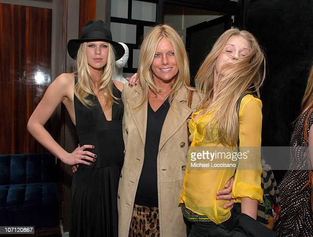 Alexandra Richards Patti Hansen and Theodora Richards