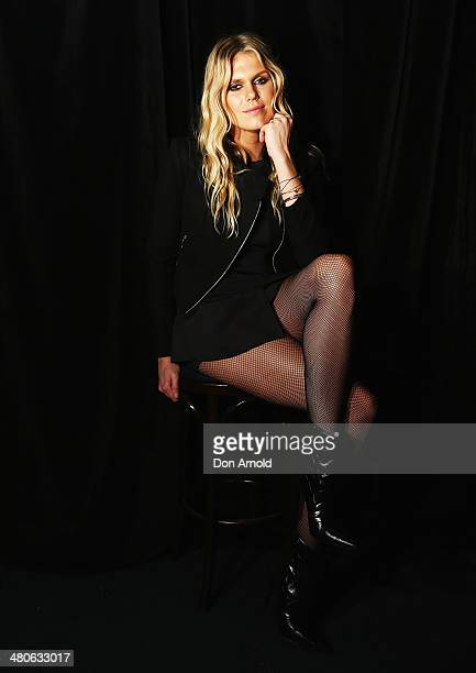 Alexandra Richards poses at the Voodoo Autumn/Winter 2014 Collection Launch at the Victoria Room on March 26 2014 in Sydney Australia