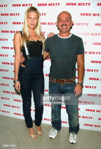 Alexandra Richards with Wichy Hassan designer and founder of Miss Sixty