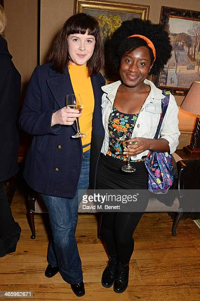 Alexandra Roach and guest attend a drinks reception and private screening of BAFTA and Oscar nominated film 'Philomena' hosted by Harvey Weinstein at...