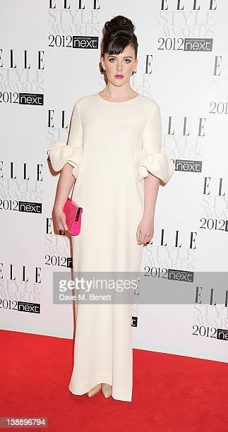 Alexandra Roach arrives at the ELLE Style Awards at The Savoy Hotel on February 13 2012 in London England