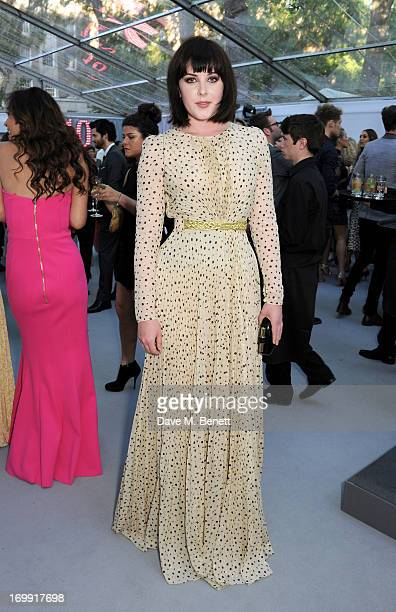 Alexandra Roach arrives at the Glamour Women of the Year Awards in association with Pandora at Berkeley Square Gardens on June 4 2013 in London...