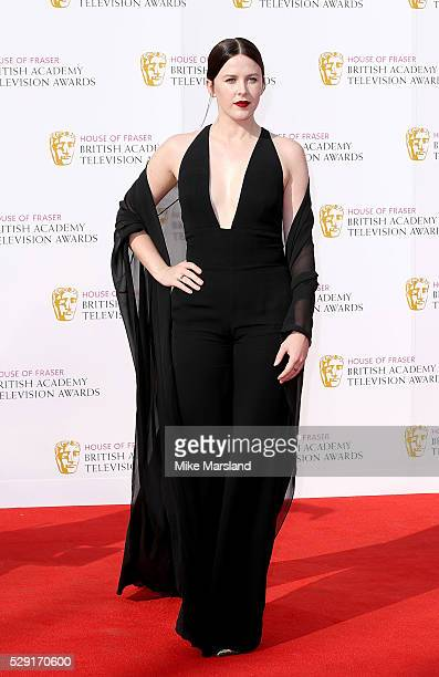 Alexandra Roach arrives for the House Of Fraser British Academy Television Awards 2016 at the Royal Festival Hall on May 8 2016 in London England