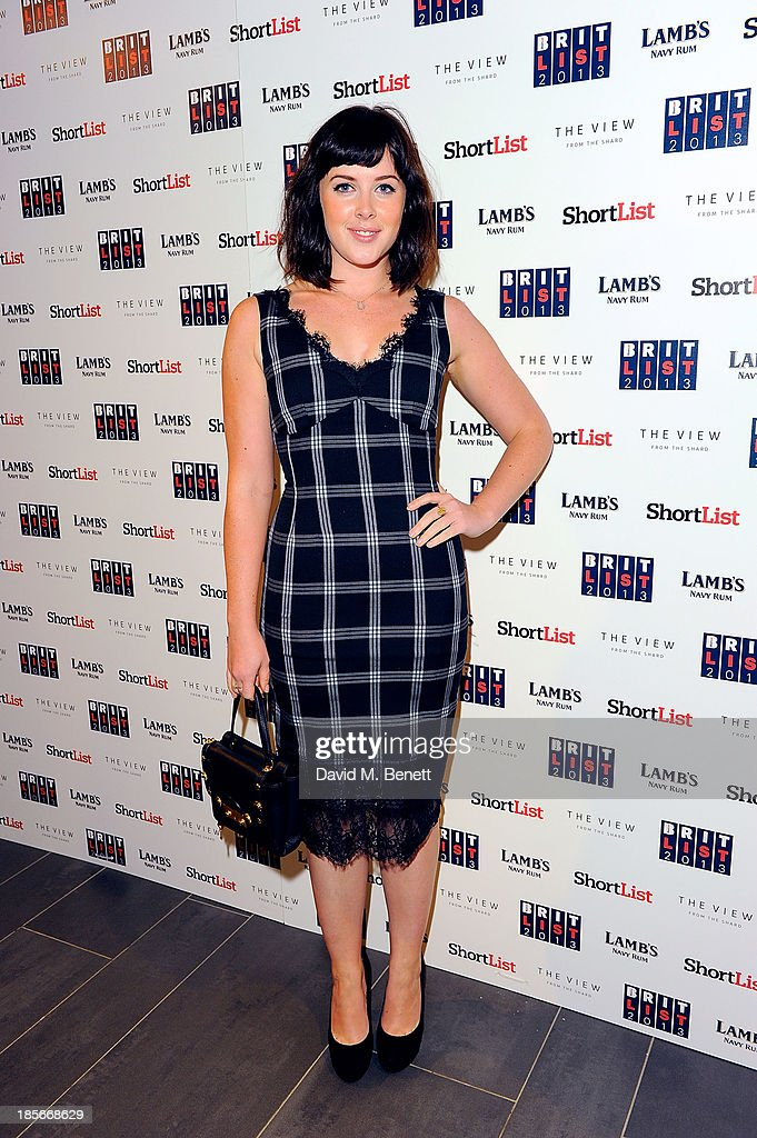 Alexandra Roach at The View from The Shard on October 23, 2013 in London, England.