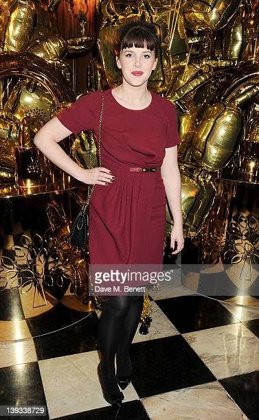 Alexandra Roach attends a dinner following the Mulberry Autumn/Winter 2012 show during London Fashion Week at The Savile Club on February 19 2012 in...