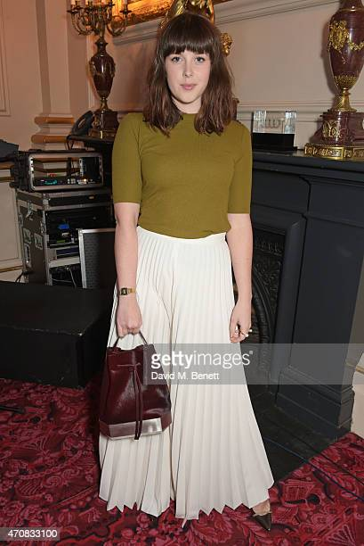 Alexandra Roach attends as Audi hosts the opening night performance of 'La Fille Mal Gardee' at The Royal Opera House on April 23 2015 in London...