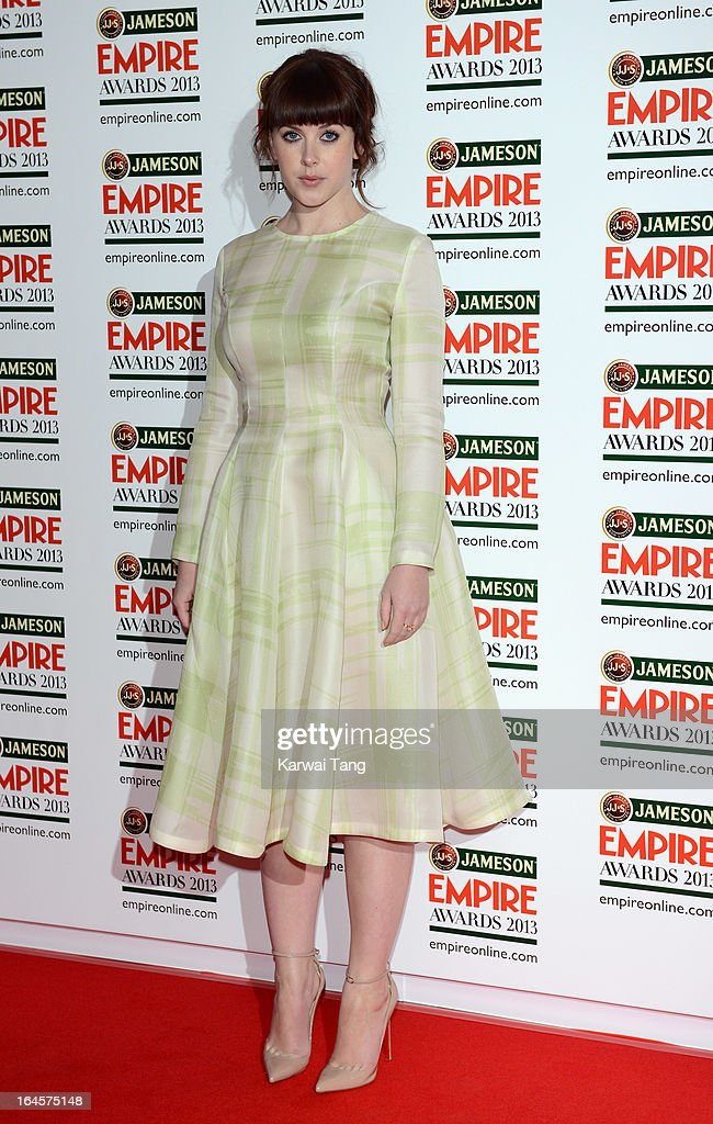 Alexandra Roach attends the 18th Jameson Empire Film Awards at Grosvenor House, on March 24, 2013 in London, England.