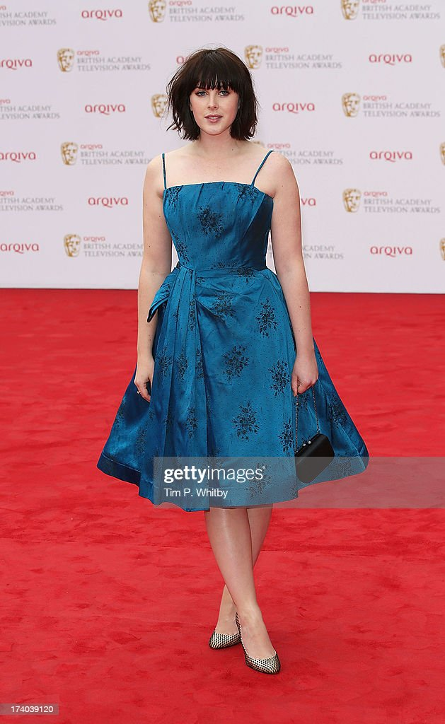 Alexandra Roach attends the Arqiva British Academy Television Awards 2013 at the Royal Festival Hall on May 12, 2013 in London, England.