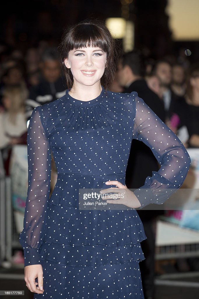 <a gi-track='captionPersonalityLinkClicked' href=/galleries/search?phrase=Alexandra+Roach&family=editorial&specificpeople=8741844 ng-click='$event.stopPropagation()'>Alexandra Roach</a> attends the European premiere of 'One Chance' at Odeon Leicester Square on October 17, 2013 in London, England.