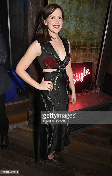 Alexandra Roach attends the InStyle EE Rising Star party ahead of the EE BAFTA Awards at 100 Wardour Street on February 4 2016 in London England