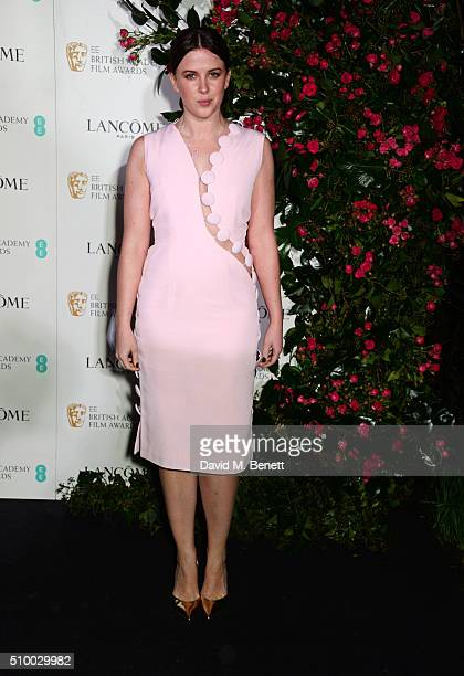 Alexandra Roach attends the Lancome BAFTA nominees party at Kensington Palace on February 13 2016 in London England