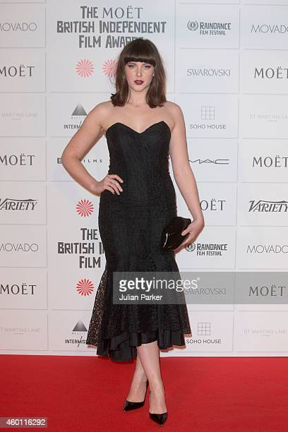 Alexandra Roach attends the Moet British Independent Film Awards at Old Billingsgate Market on December 7 2014 in London England