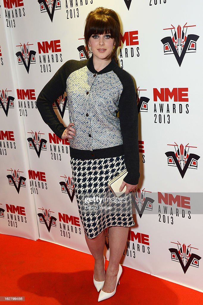 Alexandra Roach attends the NME Awards 2013 at The Troxy on February 27, 2013 in London, England.