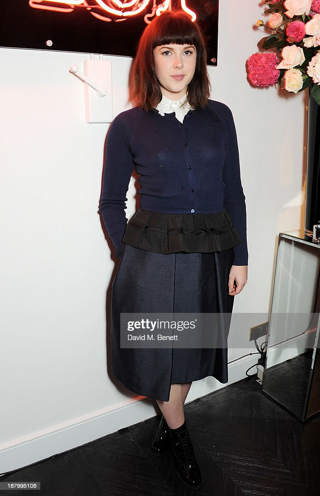 Alexandra Roach attends the opening of the Dior Beauty Boutique in Covent Garden on November 14, 2013 in London, England.
