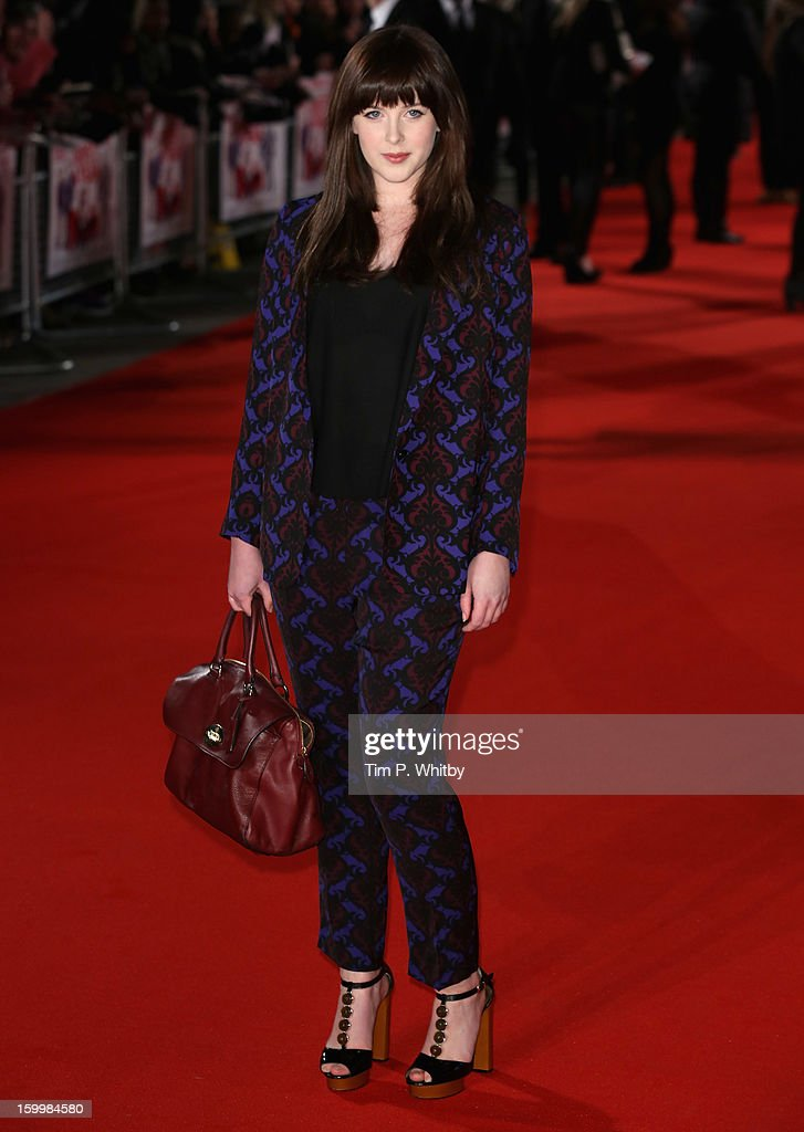 Alexandra Roach attends the UK Premiere of 'I Give It A Year' at the Vue West End on January 24, 2013 in London, England.