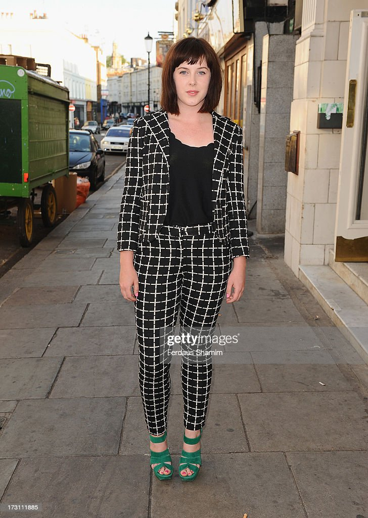 Alexandra Roach attends the UK Premiere of 'Trap For Cinderella' at The Electric Cinema on July 7, 2013 in London, England.