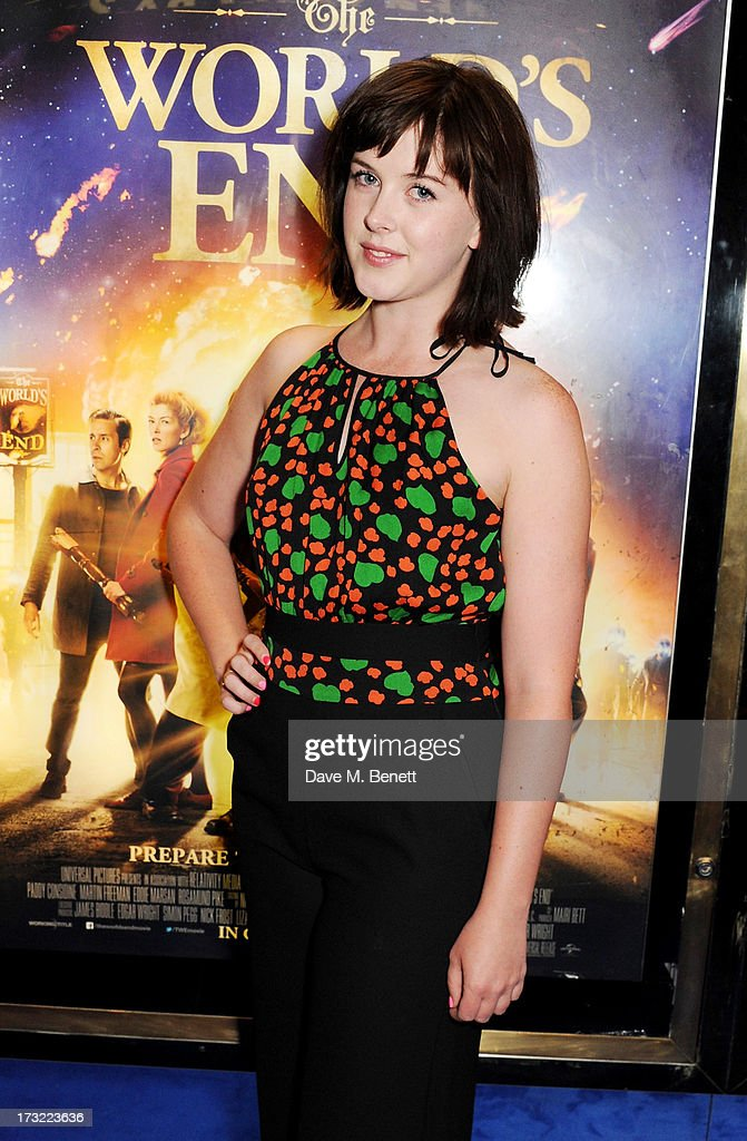 Alexandra Roach attends the World Premiere of 'The World's End' at Empire Leicester Square on July 10, 2013 in London, England.