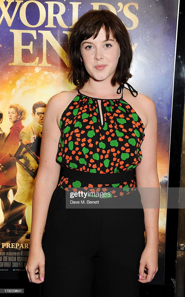 <a gi-track='captionPersonalityLinkClicked' href=/galleries/search?phrase=Alexandra+Roach&family=editorial&specificpeople=8741844 ng-click='$event.stopPropagation()'>Alexandra Roach</a> attends the World Premiere of 'The World's End' at Empire Leicester Square on July 10, 2013 in London, England.