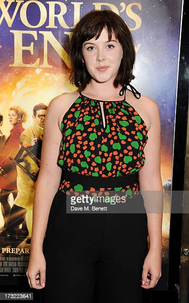Alexandra Roach attends the World Premiere of 'The World's End' at Empire Leicester Square on July 10 2013 in London England