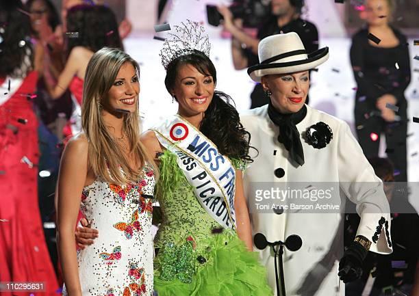 Alexandra ROsenfeld Miss Picardie Rachel LegrainTrapani Miss France 2007 and Genevieve de Fontenay