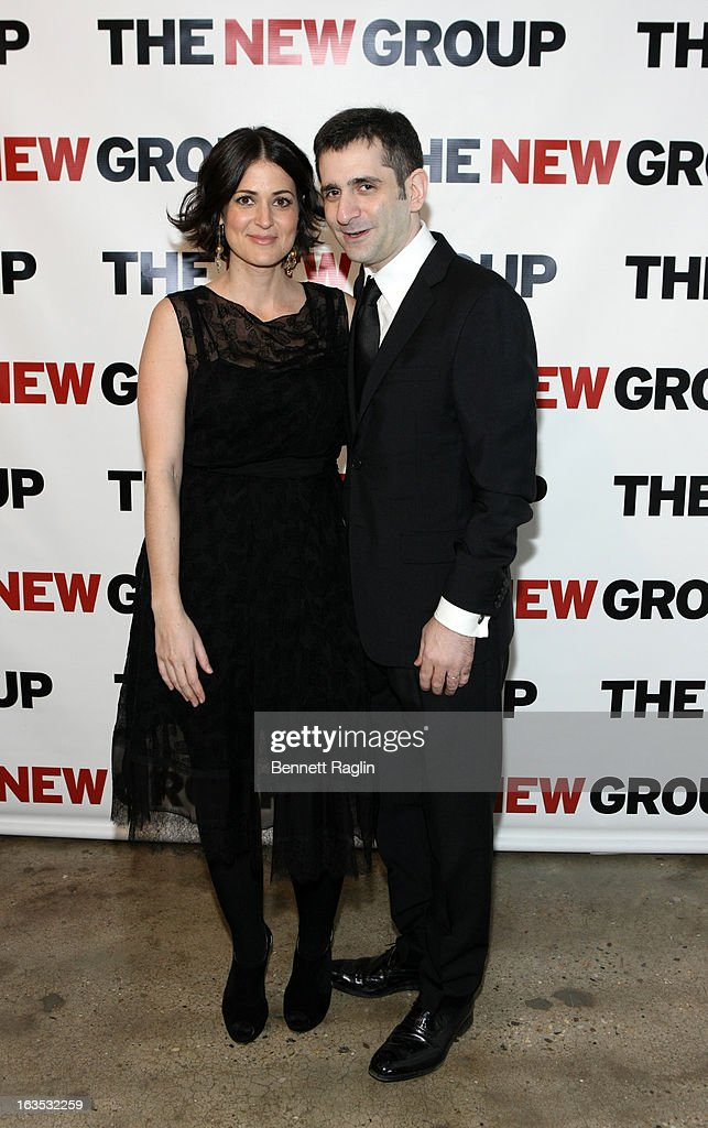 Alexandra Sherman and Jonathan Marc Sherman attends The New Group Bright Lights Off-Broadway 2013 Gala at Tribeca Rooftop on March 11, 2013 in New York City.