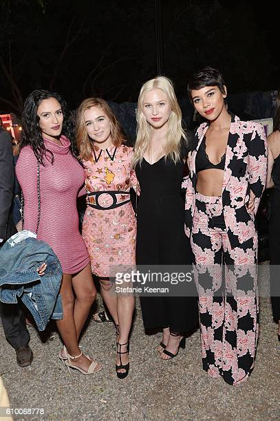 Alexandra Shipp anf guests attend 14th Annual Teen Vogue Young Hollywood with American Eagle Outfitters on September 23 2016 in Malibu California