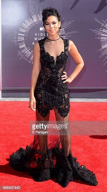Alexandra Shipp arrives at the 2014 MTV Video Music Awards at The Forum on August 24 2014 in Inglewood California