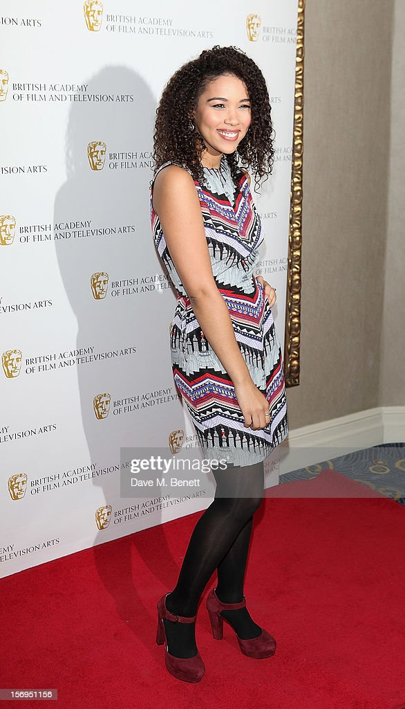 Alexandra Shipp arrives at the British Academy Children's Awards at the London Hilton on November 25, 2012 in London, England.