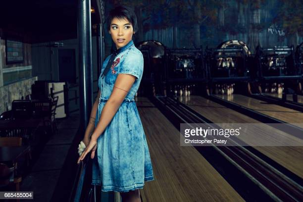 Alexandra Shipp is photographed for The Hollywood Reporter on October 14 2016 in Los Angeles California Published Image