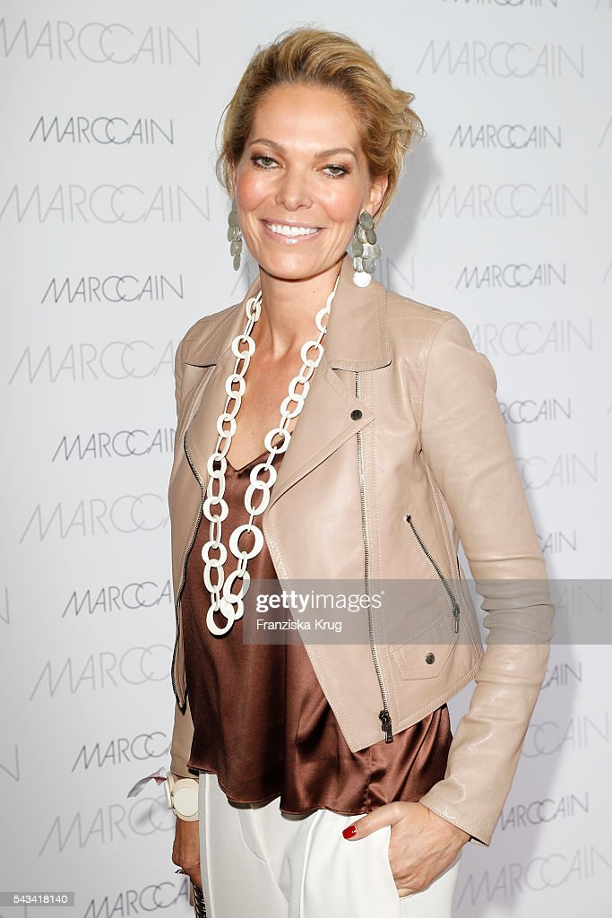 Alexandra Swarovski attends the Marc Cain fashion show spring/summer 2017 at CITY CUBE Panorama Bar on June 28, 2016 in Berlin, Germany.