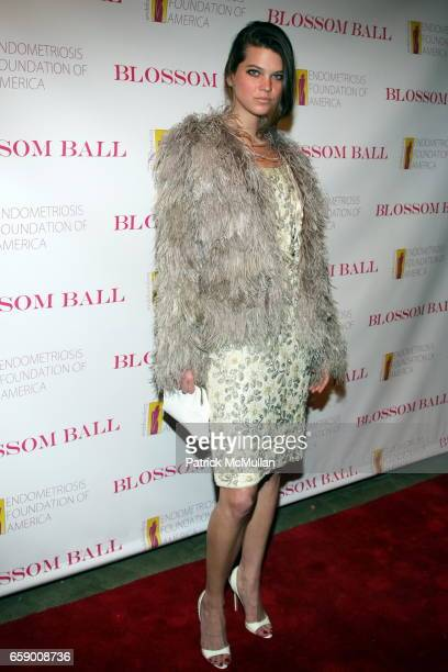 Alexandra Tomlinson attends The BLOSSOM BALL To Benefit The Endometriosis Foundation of America at The Prince George Ballroom on April 20 2009 in New...