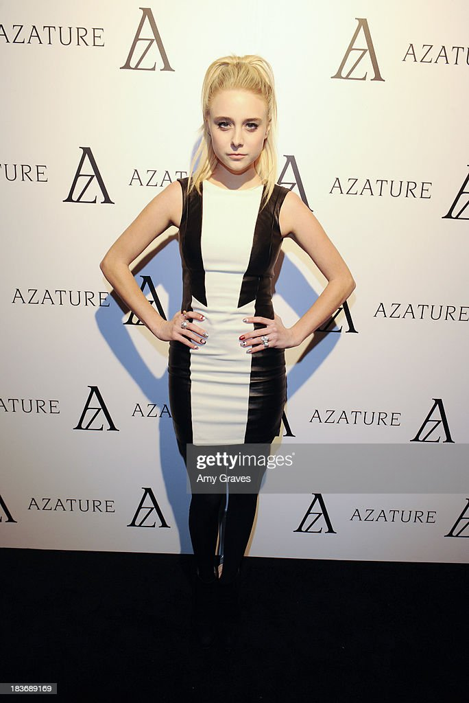 Alexandra Torresani attends the Black Diamond Affair Presented by Azature at Sunset Tower on October 8, 2013 in West Hollywood, California.