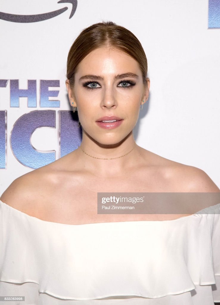 Alexandra Turshen attends 'The Tick' Blue Carpet Premiere at Village East Cinema on August 16, 2017 in New York City.
