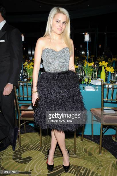 Alexandra Vidal attends NEW YORKERS FOR CHILDREN Sixth Annual Spring Dinner Dance 'New Year's in April A Fool's Fete' at Mandarin Oriental on April...