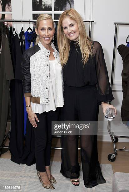 Alexandra Von Furstenberg and Mary Alice Haney attend Haney PretaCouture Ambassador Event on October 22 2013 in Pacific Palisades California