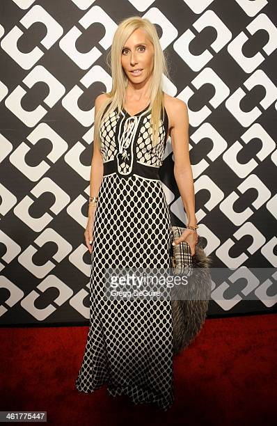 Alexandra Von Furstenberg arrives at Diane Von Furstenberg's 'Journey Of A Dress' premiere opening party at Wilshire May Company Building on January...