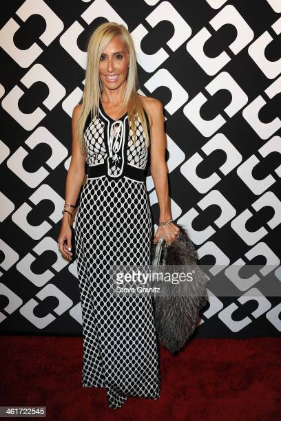 Alexandra von Furstenberg attends Diane Von Furstenberg's 'Journey Of A Dress' Premiere Opening Party at Wilshire May Company Building on January 10...