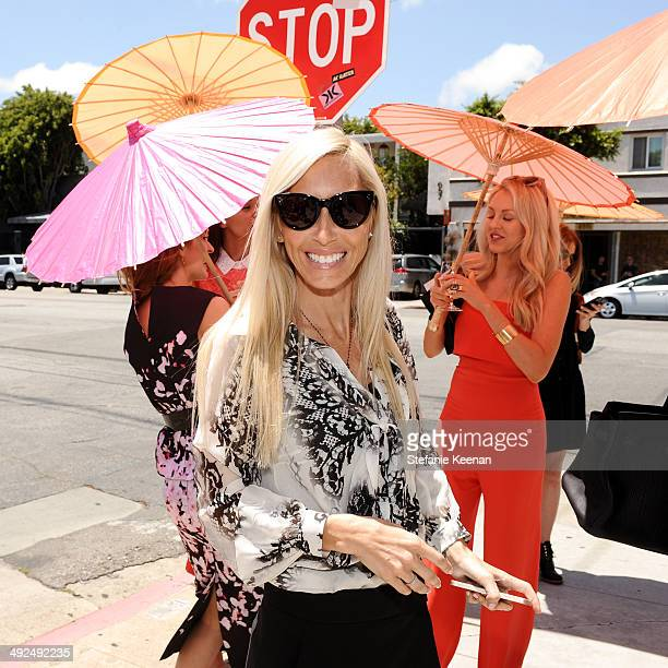 Alexandra Von Furstenberg attends Monique Lhuillier Pre Fall Lunch on May 20 2014 in Los Angeles California