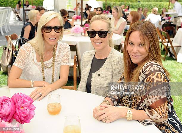 Alexandra von Furstenberg Julie Jaffe and Suzi Kaltman attend Annual PS ARTS Bag Lunch on May 29 2014 in Los Angeles California
