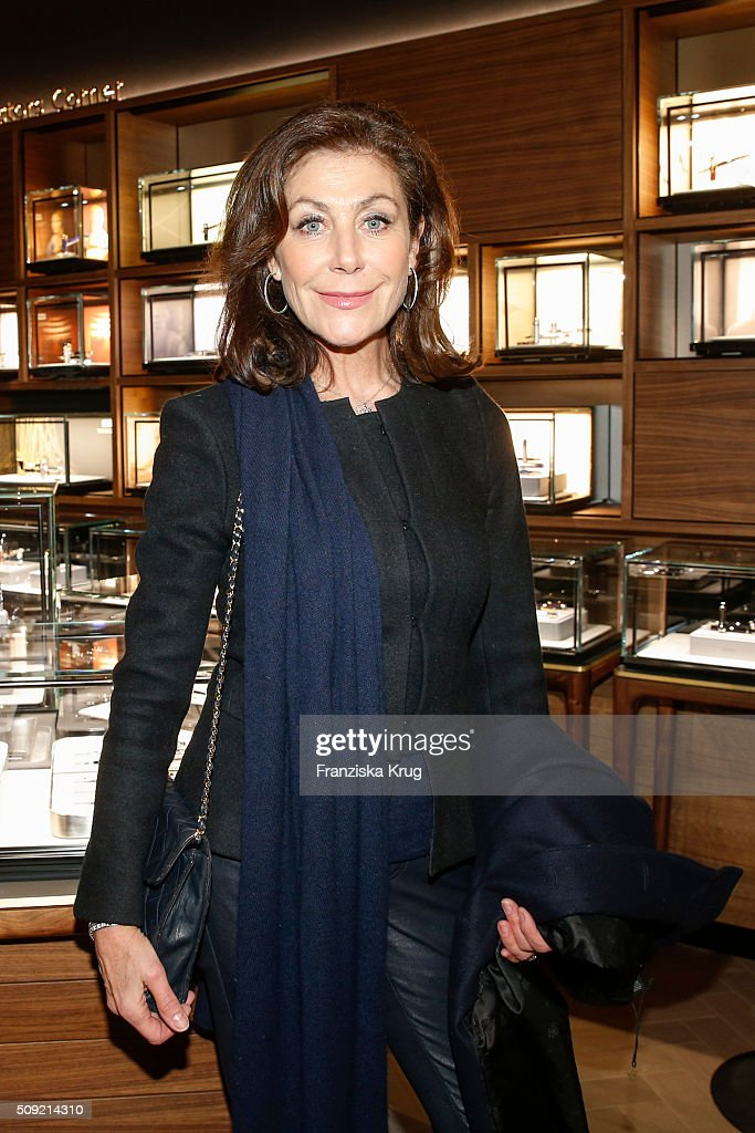 Alexandra von Rehlingen attends the Montblanc House Opening on February 09, 2016 in Hamburg, Germany.
