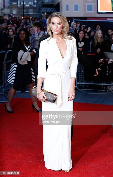 Alexandra Weaver attends the HighRise Screening during the BFI London Film Festival at Odeon Leicester Square on October 9 2015 in London England