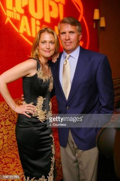Alexandra Wentworth and Jack Ford during Living It Up With Ali and Jack Launch Party at Plaid in New York City New York United States