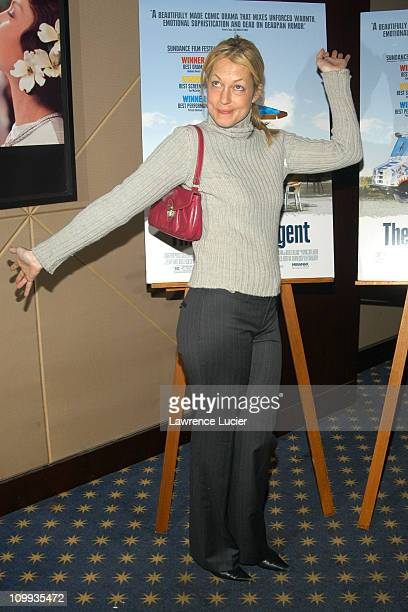 Alexandra Wentworth during A Special Screening Of The Station Agent October 13 2003 at MGM Screening Room in New York City New York United States