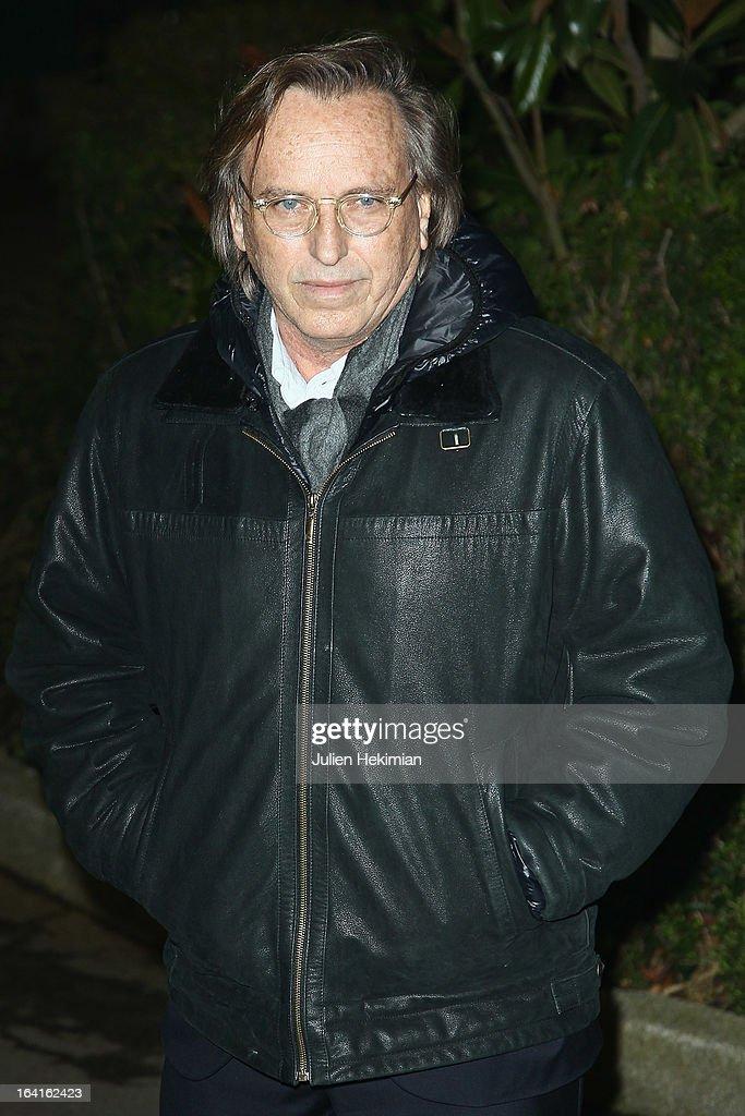 Alexandre Arcady attends the 28th Dinner of 'Conseil Rrepresentatif Des Institutions Juives De France at Pavillon d'Armenonville on March 20, 2013 in Paris, France.