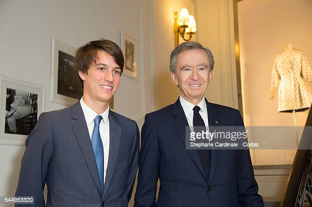 Alexandre Arnault and Bernard Arnault attend the Christian Dior Haute Couture Fall/Winter 20162017 show as part of Paris Fashion Week on July 4 2016...