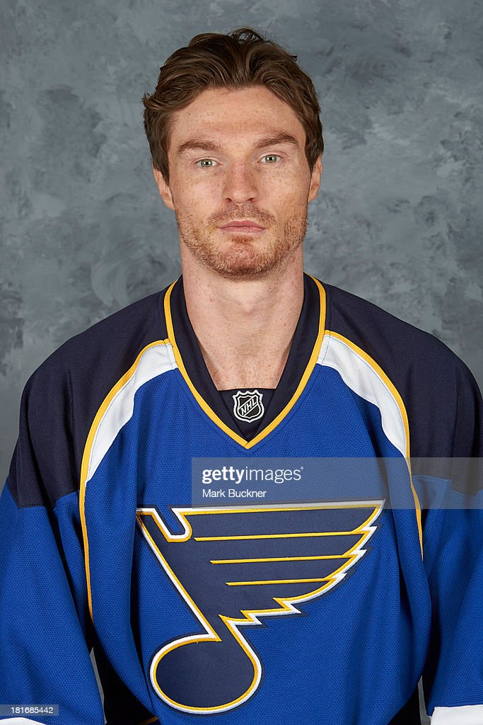 <a gi-track='captionPersonalityLinkClicked' href=/galleries/search?phrase=Alexandre+Bolduc&family=editorial&specificpeople=718397 ng-click='$event.stopPropagation()'>Alexandre Bolduc</a> of the St. Louis Blues poses for his official headshot for the 2013-2014 season on September 12, 2013 at the Scottrade Center in St. Louis, Missouri.