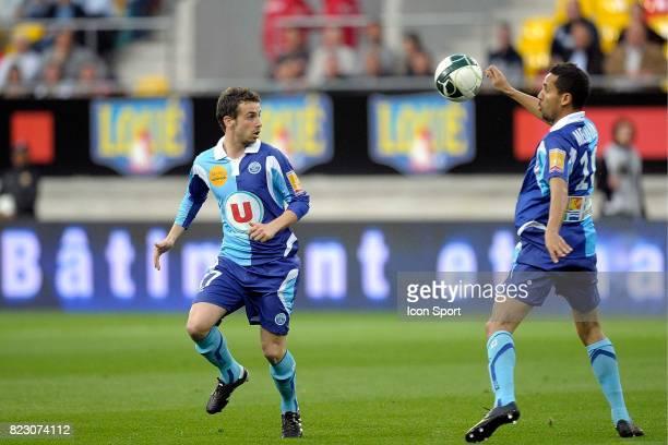Alexandre BONNET Walid MESLOUB Le Mans / Le Havre 31e journee Ligue 2