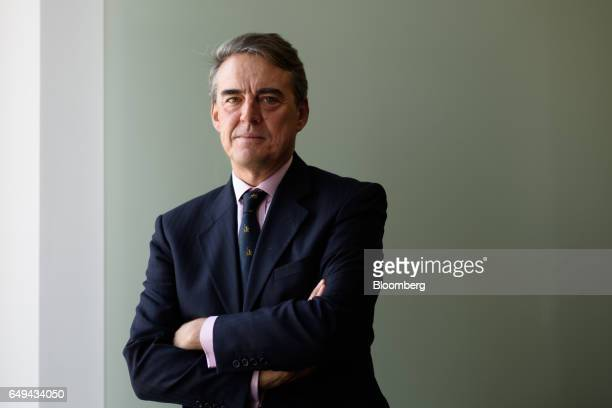 Alexandre de Juniac director general and chief executive officer of the International Air Transport Association poses for a photograph in Tokyo Japan...